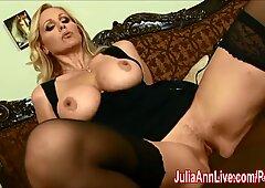 mummy Julia Ann pokes fat BBC!