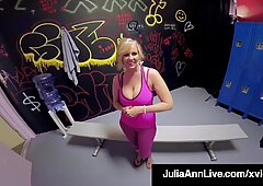The Most Famous Milf Julia Ann Fucked By Young Gym Cock!
