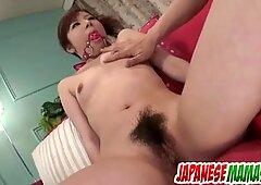 Dirty porn scenes along small tits, Amu Kosaka