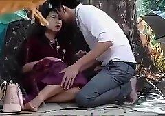 Thai couples outdoor